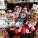Personally Embroidered Rag Dolls