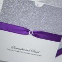 Silver Glitter Wallet £4.75 per invitation