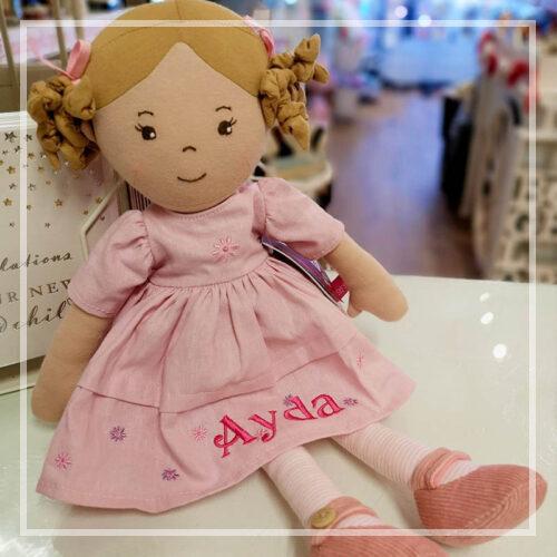 Personalised Rag Dolls